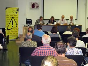 Ramiro Muñoz en un acto de la PIC en la sede de la UA