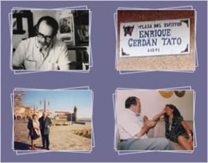 Cuatro instantáneas de la vida de Enrique Cerdán Tato
