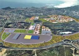 Imagen virtual del proyectado macrocentro comercial de IKEA en Rabassa