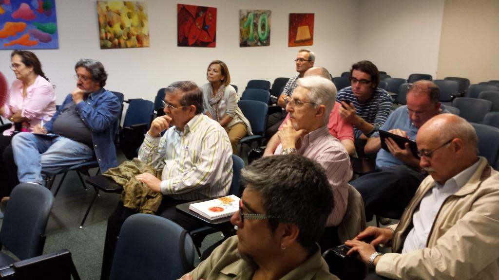 Imagen de la asamblea de la PIC donde se produjo el relevo en la presidencia