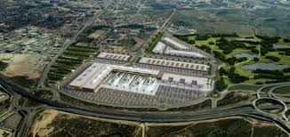 Vista aérea del macrocentro comercial de Ikea en Rabassa