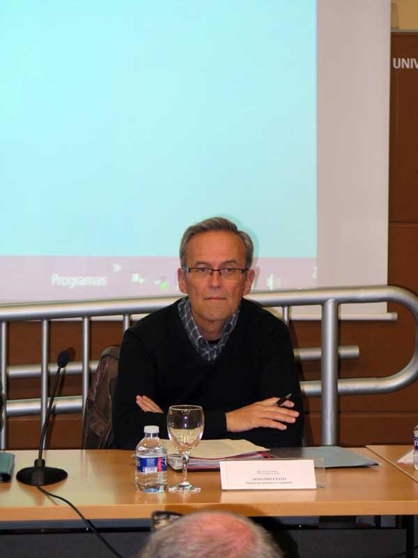 Armando Etayo, miembro de la PIC