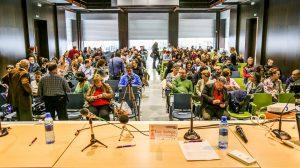 Una de las reuniones de AFEMA donde se deciden y analiza el trabajo a realizar